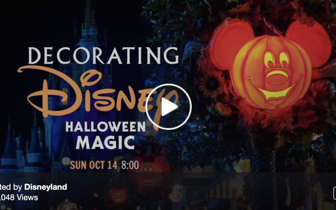 DISNEY DECORATING || Halloween REP