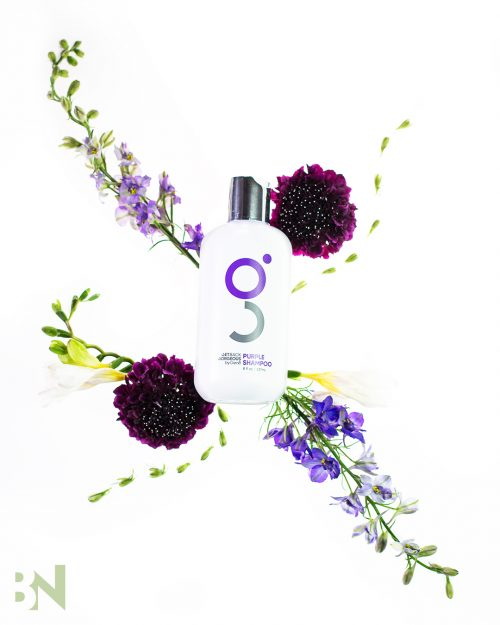 Awesome Product Photography Shampoo Flowers