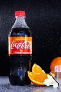Brenna Pincock Best Product Photography Orange Vanilla Coke