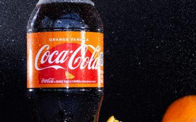 ORANGE VANILLA COKE || Best Product Photography