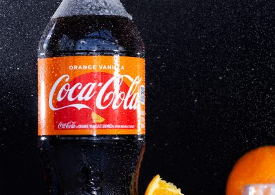 ORANGE VANILLA COKE || Best Product Photography