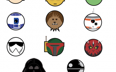 I AM ONE WITH THE FORCE || Icon Set