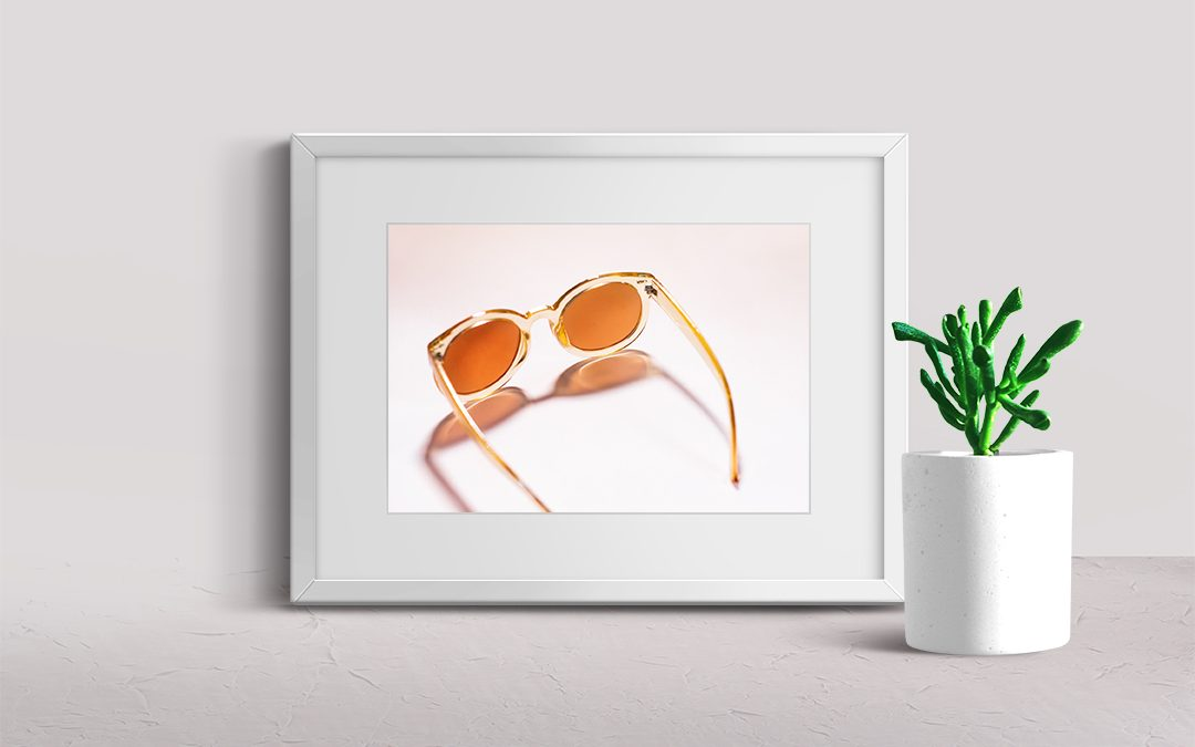 MODERN FINE ART PRINT || Free People Shades