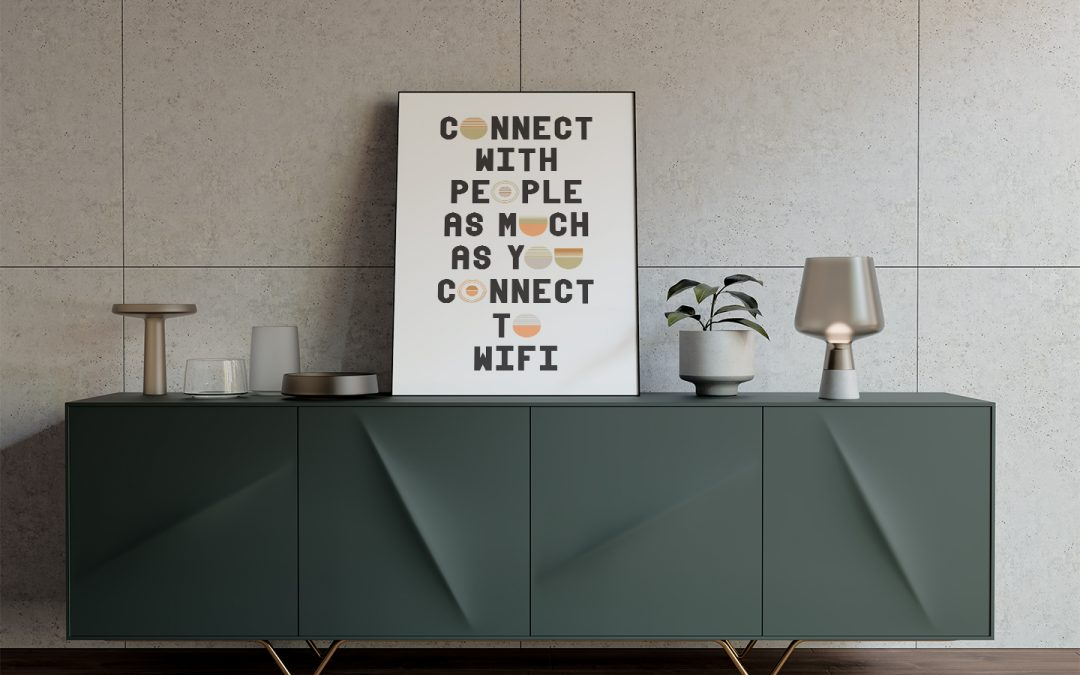 TYPOGRAPHY DESIGN || Connect With People